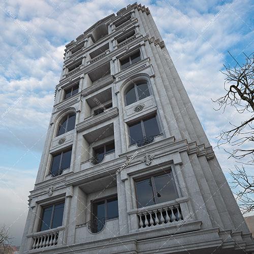 ساختمان مسکونی دکتر مقیمی